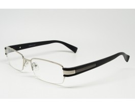 Z01AB8228-S - Stainless Steel, SemiRim eyeglasses for men
