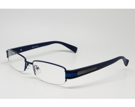 Z01AB8229-BL - Stainless Steel, SemiRim eyeglasses for men