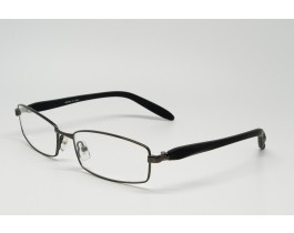 Z01AB8283-BK - Stainless Steel, FullRim eyeglasses for men