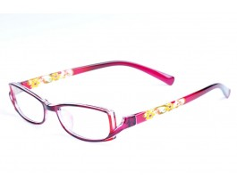 Z120232-PU - purple,fullrim,rectangle,tr90 eyeglasses,medium,for women