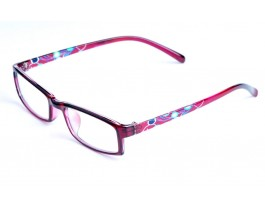 Z120247-BG - red,fullrim,rectangle,tr90 eyeglasses,medium,for women