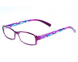 Z122284-PU - purple,fullrim,rectangle,tr90 eyeglasses,large,for women