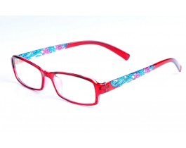 Z122284-R - red,fullrim,rectangle,tr90 eyeglasses,large,for women