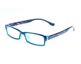Z122299-BL - blue,fullrim,rectangle,tr90 eyeglasses,medium,for women