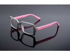 Z13OF508C35 - Grey/pink,Fullrim,Rectangle,Plastic eyeglasses,Large,for both men and women