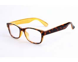 Z170903C07 - Leopard,Fullrim,Aviator,Plastic eyeglasses,Medium,for both men and women