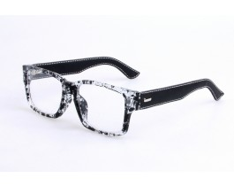 Z18SH1804C04 - Black/leopard,Fullrim,Aviator,Plastic eyeglasses,Large,for both men and women