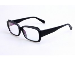 Z195076B2 - Black matte ,Fullrim,Rectangle,Plastic eyeglasses,Medium,for men