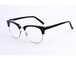 Z228063C1 - Black,Fullrim,Aviator,Acetate eyeglasses,Large,for both men and women