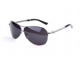 Metal alloy, Semirim sunglasses for men