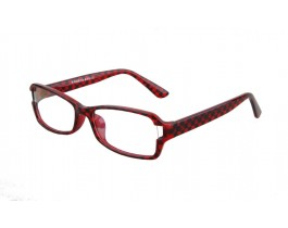 Z375058C186 - Red,Fullrim,Rectangle,Plastic eyeglasses