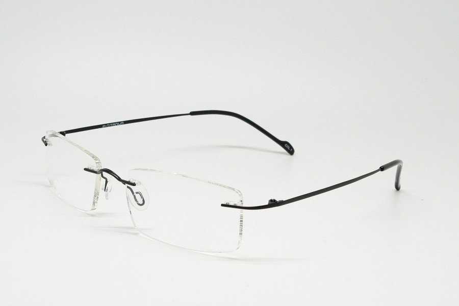 Rimless Glasses Titanium : Buy Prescription Eyeglasses Online / Z03S3323C01 ...