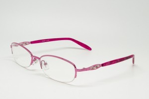 Stainless Steel, SemiRim eyeglasses for women - Z01AB8349C4