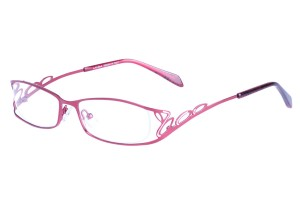 Red,Fullrim,Oval,Alloy metal eyeglasses - Z01AB8551C56