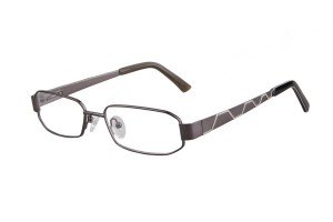 Metallic,Fullrim,Rectangle,Metal alloy eyeglasses - Z035764C2