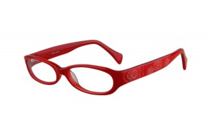 Red,Fullrim,Oval,Acetate eyeglasses - Z03BP6133C2