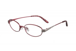 Purple,Fullrim,Oval,Titanium eyeglasses - Z03BT0806166C1