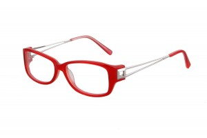 Red,Fullrim,Oval,Acetate eyeglasses - Z03BZ3410C2