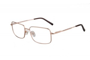 Golden,Fullrim,Rectangle,Titanium eyeglasses - Z03S3148C50