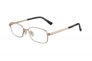 Golden,Fullrim,Rectangle,Titanium eyeglasses - Z03S3174C50
