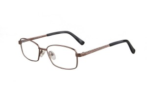 Brown,Fullrim,Rectangle,Titanium eyeglasses - Z03S3174C66