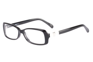 Black,Fullrim,Oval,Acetate eyeglasses - Z06S603C1