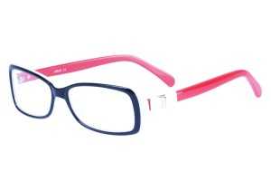 Black/red,Fullrim,Oval,Acetate eyeglasses - Z06S603C2