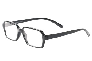Black,Fullrim,Rectangle,Tr90 eyeglasses - Z100DS006-BK