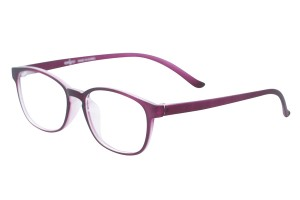 Purple,Fullrim,Wayfarer,Tr90 eyeglasses - Z100DS011-PM