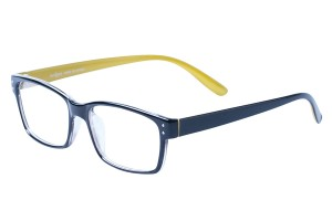 Yellow,Fullrim,Rectangle,Tr90 eyeglasses - Z100DS021-YE