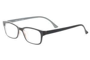 Black,Fullrim,Rectangle,Tr90 eyeglasses - Z100DS9202-BK