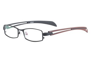 Black,Fullrim,Rectangle,Metal alloy eyeglasses - Z116811C4