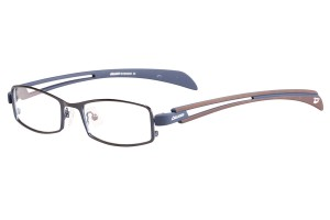 Blue,Fullrim,Rectangle,Metal alloy eyeglasses - Z116811C5