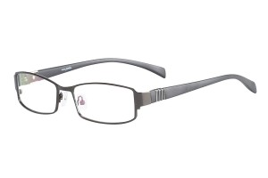 Metallic,Fullrim,Rectangle,Metal alloy eyeglasses - Z116881C2