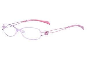Pink/red,Fullrim,Oval,Metal alloy eyeglasses - Z165503-PIR