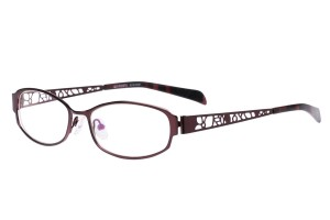 Purple,Fullrim,Oval,Metal alloy eyeglasses - Z165540-PU