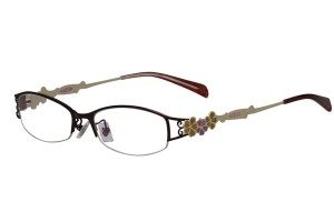Purple,Semirim,Halfrim,SemiRimless,Rectangle,Metal alloy eyeglasses - Z165547-PU