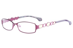 Purple,Fullrim,Rectangle,Metal alloy eyeglasses - Z165552-PU