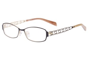 Black/white,Fullrim,Rectangle,Metal alloy eyeglasses - Z165560-BKW