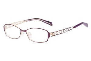 Purple,Fullrim,Rectangle,Metal alloy eyeglasses - Z165560-PU