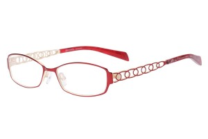 Red,Fullrim,Rectangle,Metal alloy eyeglasses - Z165560-R