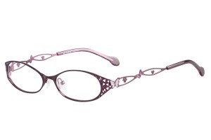 Purple,Fullrim,Oval,Metal alloy eyeglasses - Z165564-PU
