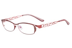 Red,Fullrim,Rectangle,Metal alloy eyeglasses - Z167735C10