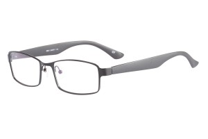 Black,Fullrim,Rectangle,Metal alloy eyeglasses - Z168561C7