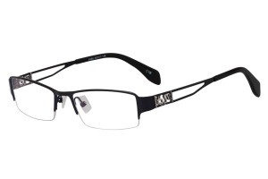 Blue,Semirim,Halfrim,SemiRimless,Rectangle,Metal alloy eyeglasses - Z168586C18