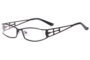 Black,Fullrim,Rectangle,Metal alloy eyeglasses - Z16C30047C1