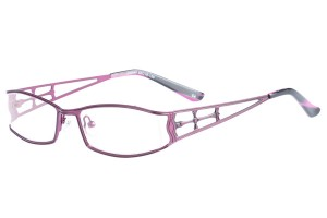 Purple,Fullrim,Rectangle,Metal alloy eyeglasses - Z16C30047C4