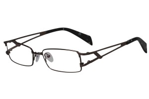 Black,Fullrim,Rectangle,Metal alloy eyeglasses - Z16CR1149-BK