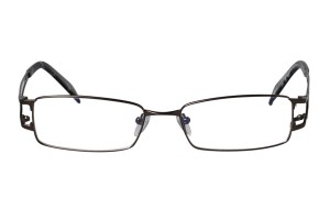 Metallic,Fullrim,Rectangle,Metal alloy eyeglasses - Z16CR1149-M