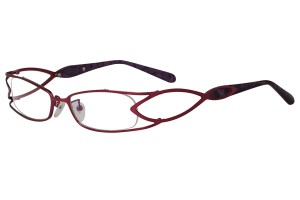 Purple,Fullrim,Rectangle,Metal alloy eyeglasses - Z16CR1178-PU